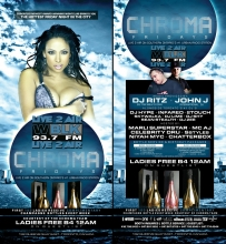 Chroma Fridays June 22, 2012