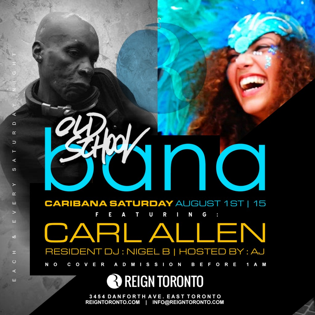 Caribana Saturday at Reign Toronto